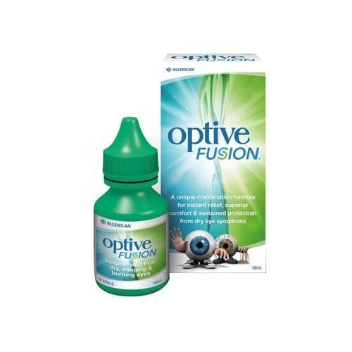 Optive Fusion Eye Drops 10ml