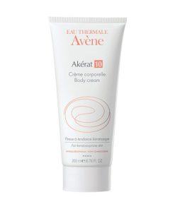 Avene Akerat 10 Body Cream For Keratosis- Prone Skin 200ml