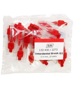 Tepe Interdental Brushes Red 0.5mm – Pack of 25