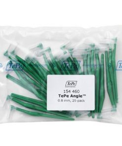 Tepe Interdental Angle Brush Green 0.8mm - Pack of 25