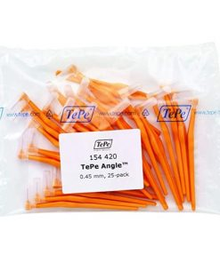 Tepe Interdental Angle Brush Orange 0.45mm - Pack of 25