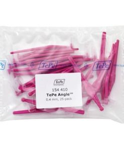 Tepe Interdental Angle Brush Pink 0.4mm - Pack of 25